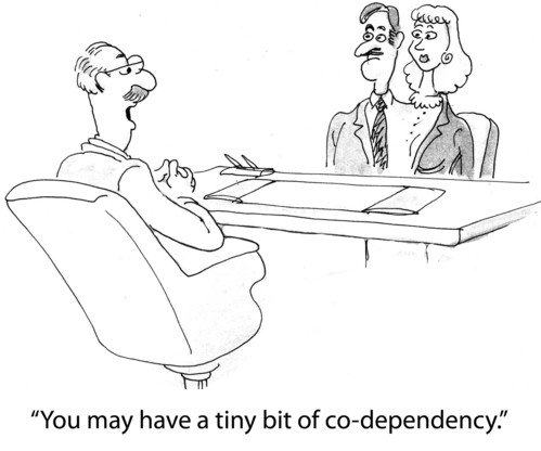 codependency addiction and broad term Defining codependency let us start this complex and contested topic, (the very term itself having become overused and generalised) by attempting to trace the definition and its metamorphosis from a term used only in addiction recovery to a much more general term used to describe maladaptive pathological behavioural patterns.